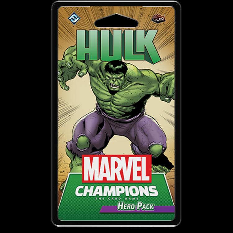 Fantasy Flight Games Marvel Champions Living Card Game: Hulk Hero Pack