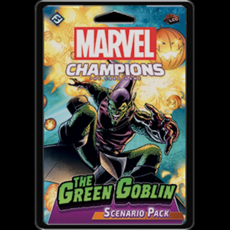 Fantasy Flight Games Marvel Champions Living Card Game: Green Goblin Scenario Pack
