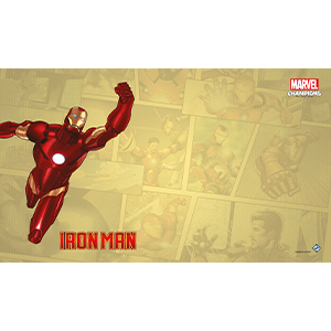 Fantasy Flight Games Marvel Champions Living Card Game: Iron Man Game Mat