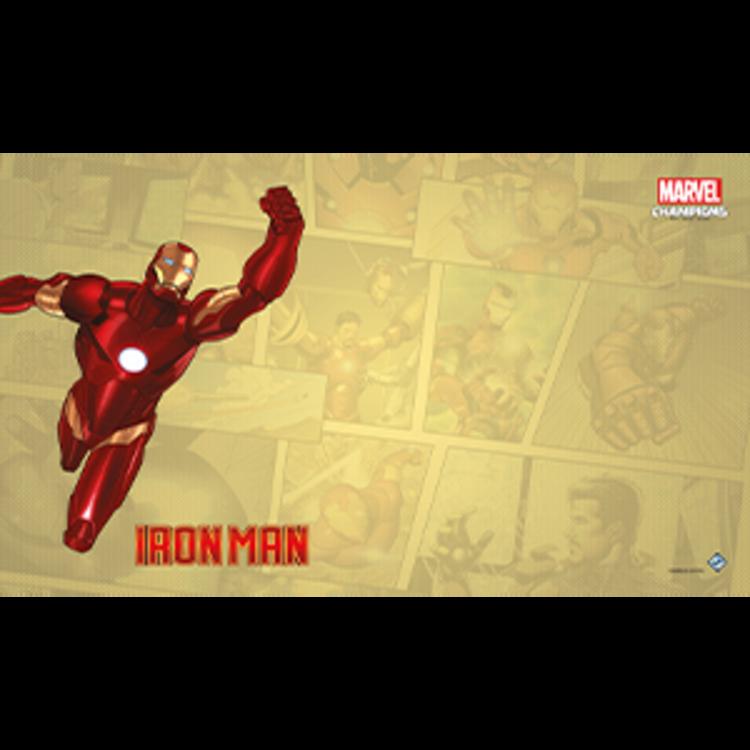 Fantasy Flight Games Marvel Champions Living Card Game: Iron Man Game Mat