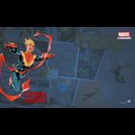 Fantasy Flight Games Marvel Champions Living Card Game: Captain Marvel Game Mat