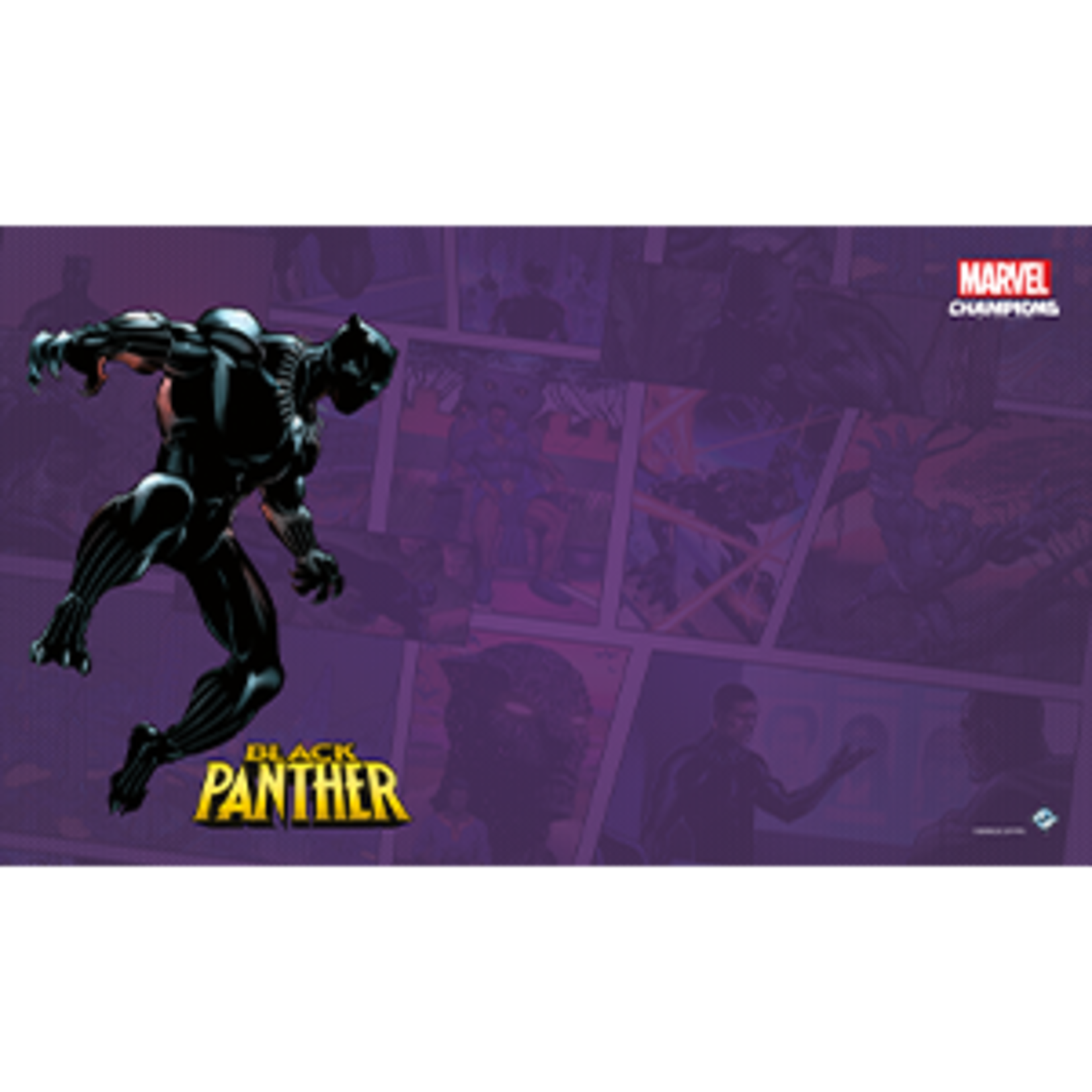 Fantasy Flight Games Marvel Champions Living Card Game: Black Panther Game Mat