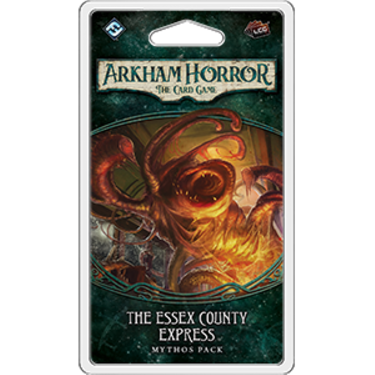 Fantasy Flight Games Arkham Horror LCG: The Essex County Express Mythos Pack (Dunwich Legacy Pack 2)