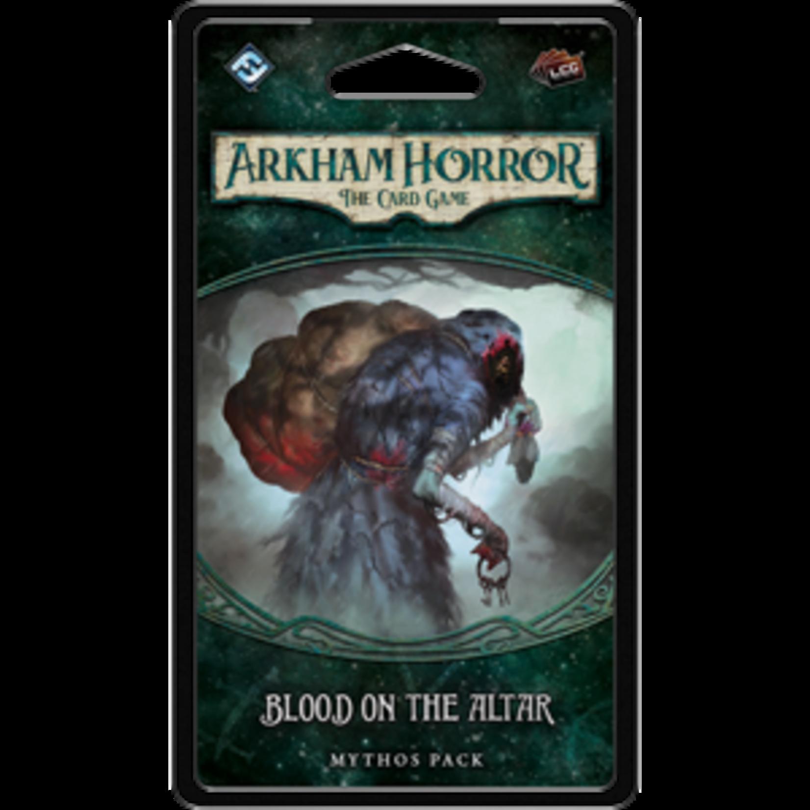 Fantasy Flight Games Arkham Horror LCG: Blood on the Altar Mythos Pack (Dunwich Legacy Pack 3)
