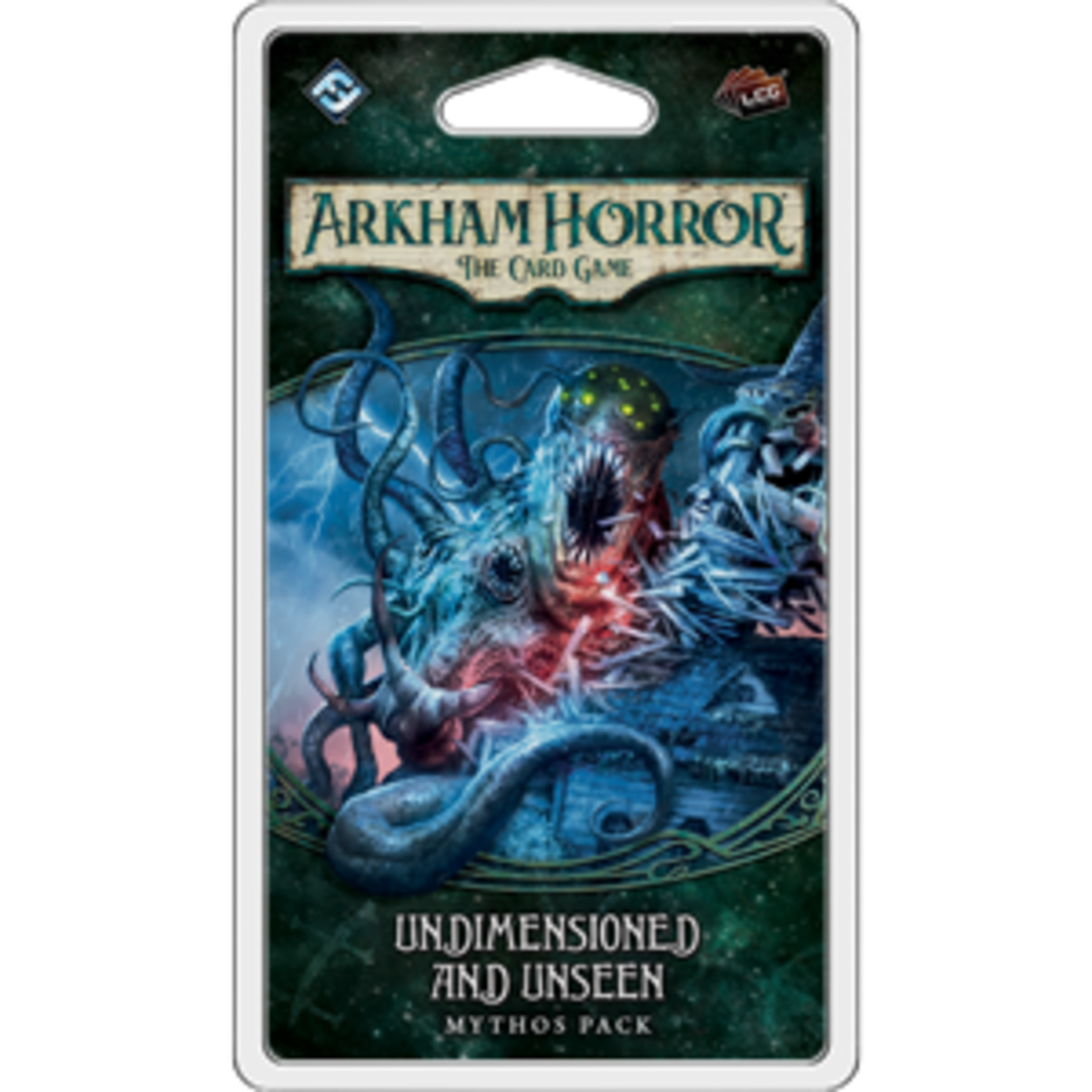 Fantasy Flight Games Arkham Horror LCG: Undimensioned and Unseen Mythos Pack (Dunwich Legacy Pack 4)