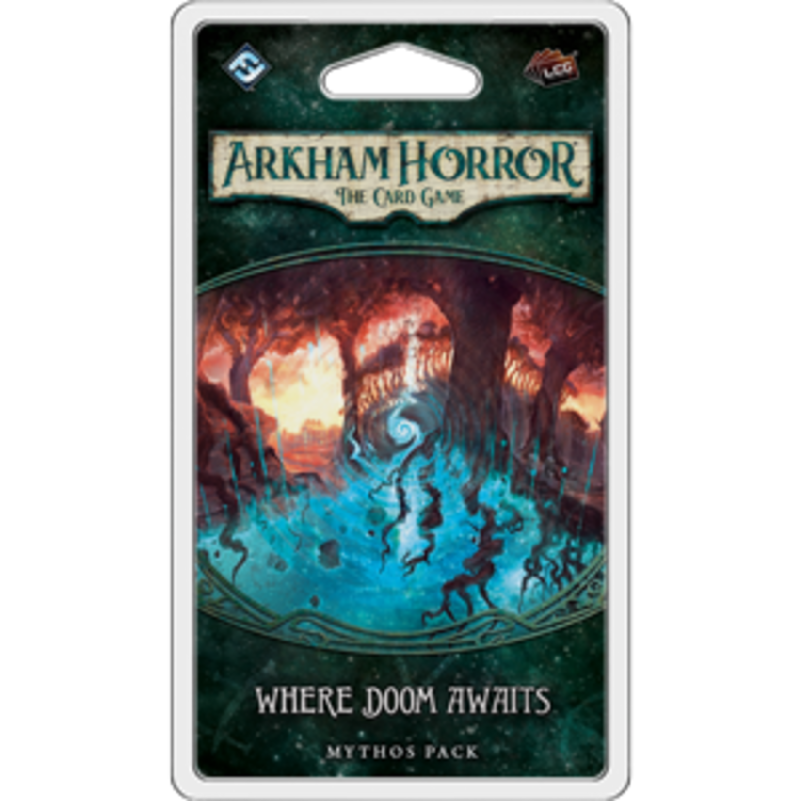 Fantasy Flight Games Arkham Horror LCG: Where Doom Awaits Mythos Pack (Dunwich Legacy Pack 5)