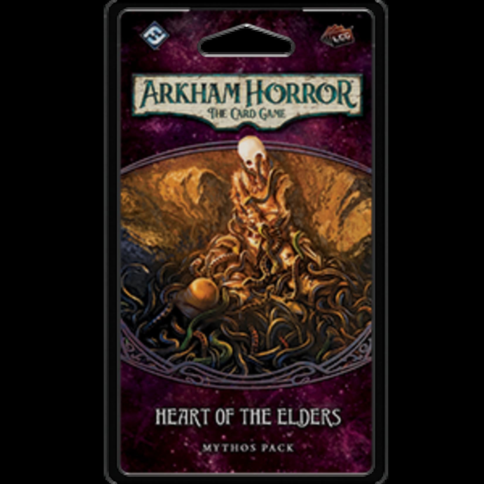 Fantasy Flight Games Arkham Horror LCG: Heart of the Elders Mythos Pack (Forgotten Age 3)