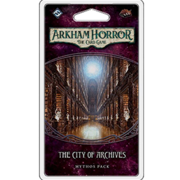 Fantasy Flight Games Arkham Horror LCG: The City of Archives Mythos Pack (Forgotten Age 4)