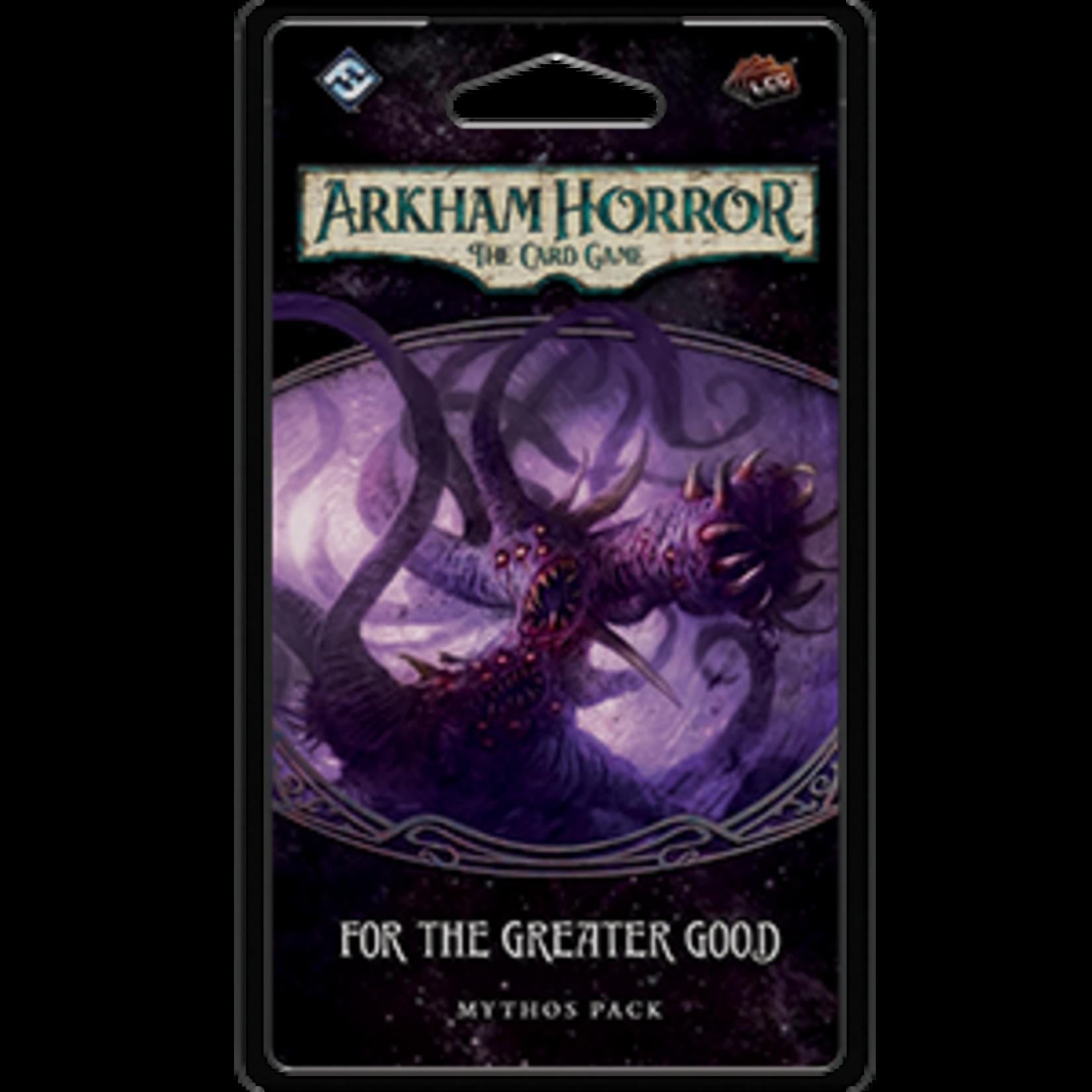 Fantasy Flight Games Arkham Horror LCG: For the Greater Good Mythos Pack (Circle Undone 3)