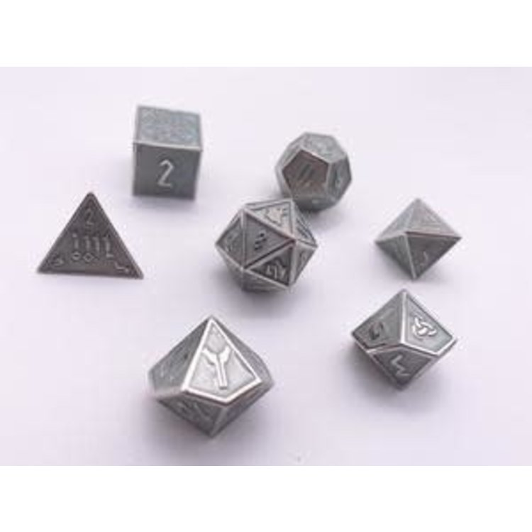 Norse Foundry Norse Foundry Dice: Enamel Norse Dice Set - Banshee Wail