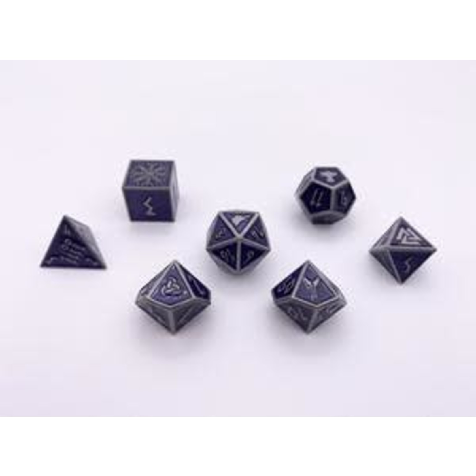 Norse Foundry Norse Foundry Dice: Enamel Norse Dice Set - Doppelganger