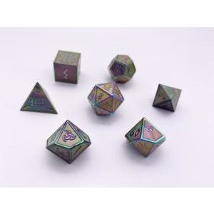 Norse Foundry Norse Foundry Dice: Enamel Norse Dice Set - Yggdrasil
