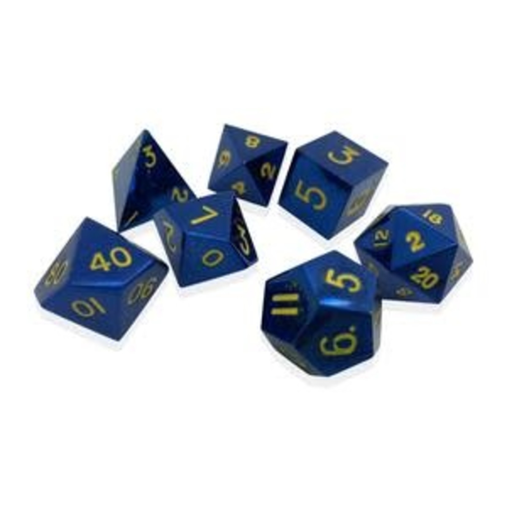 Norse Foundry Norse Foundry Dice: Metal Dice Set - Lightning Bolt