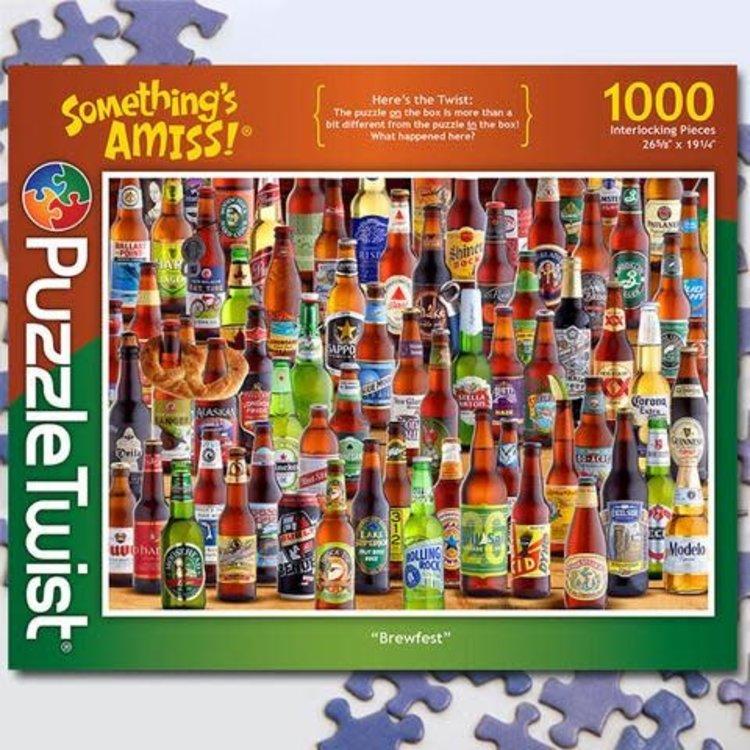Puzzle Twist Puzzle Twist - 1000 Piece Puzzle: Brewfest