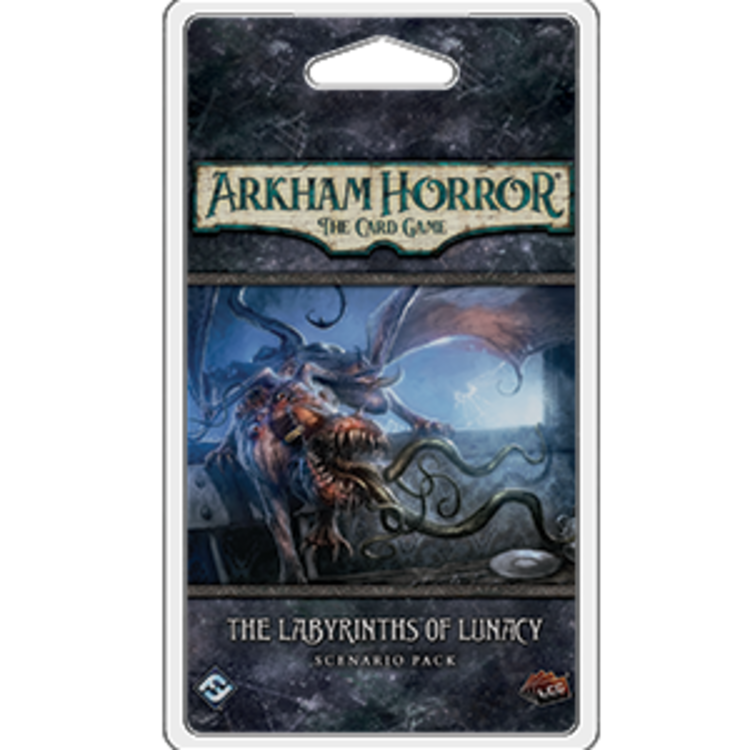 Fantasy Flight Games Arkham Horror LCG: The Labyrinths of Lunacy Scenario Pack