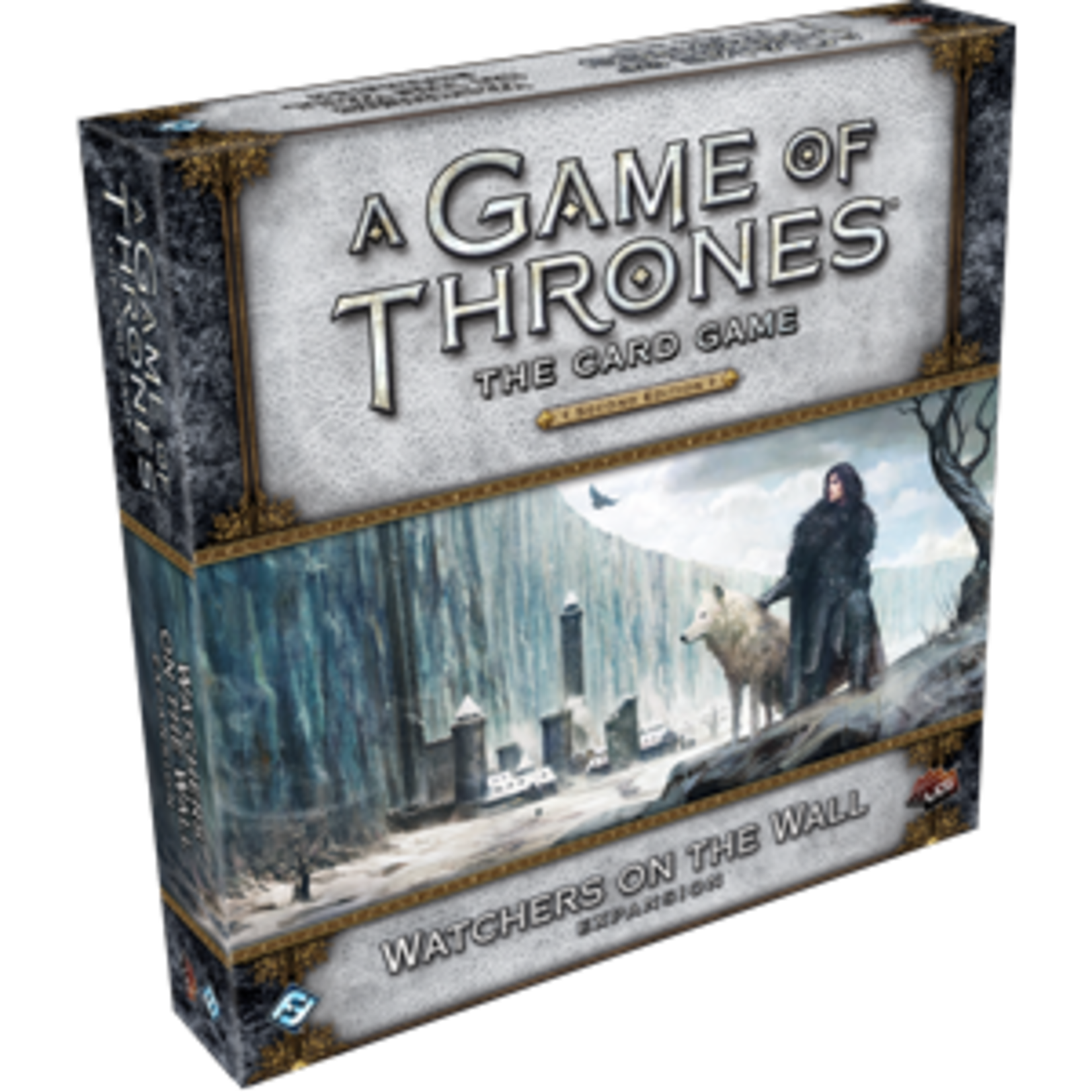 Fantasy Flight Games A Game of Thrones Card Game 2nd Edition: Watchers on the Wall Deluxe Expansion