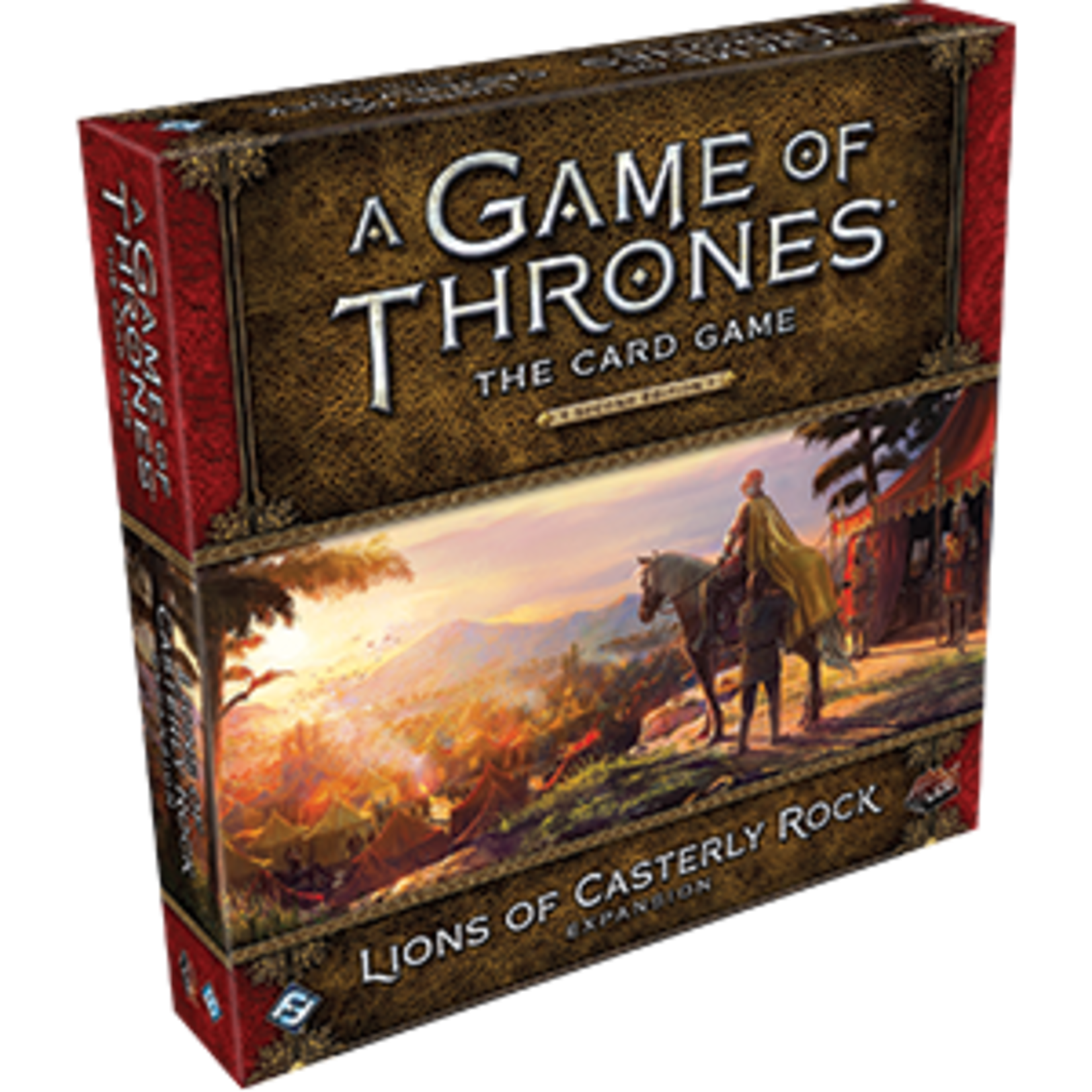 Fantasy Flight Games A Game of Thrones Card Game 2nd Edition: Lions of Casterly Rock Deluxe Expansion