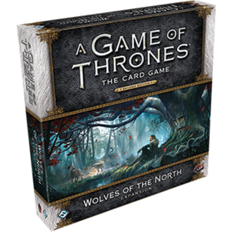 Fantasy Flight Games A Game of Thrones Card Game 2nd Edition: Wolves of the North Deluxe Expansion