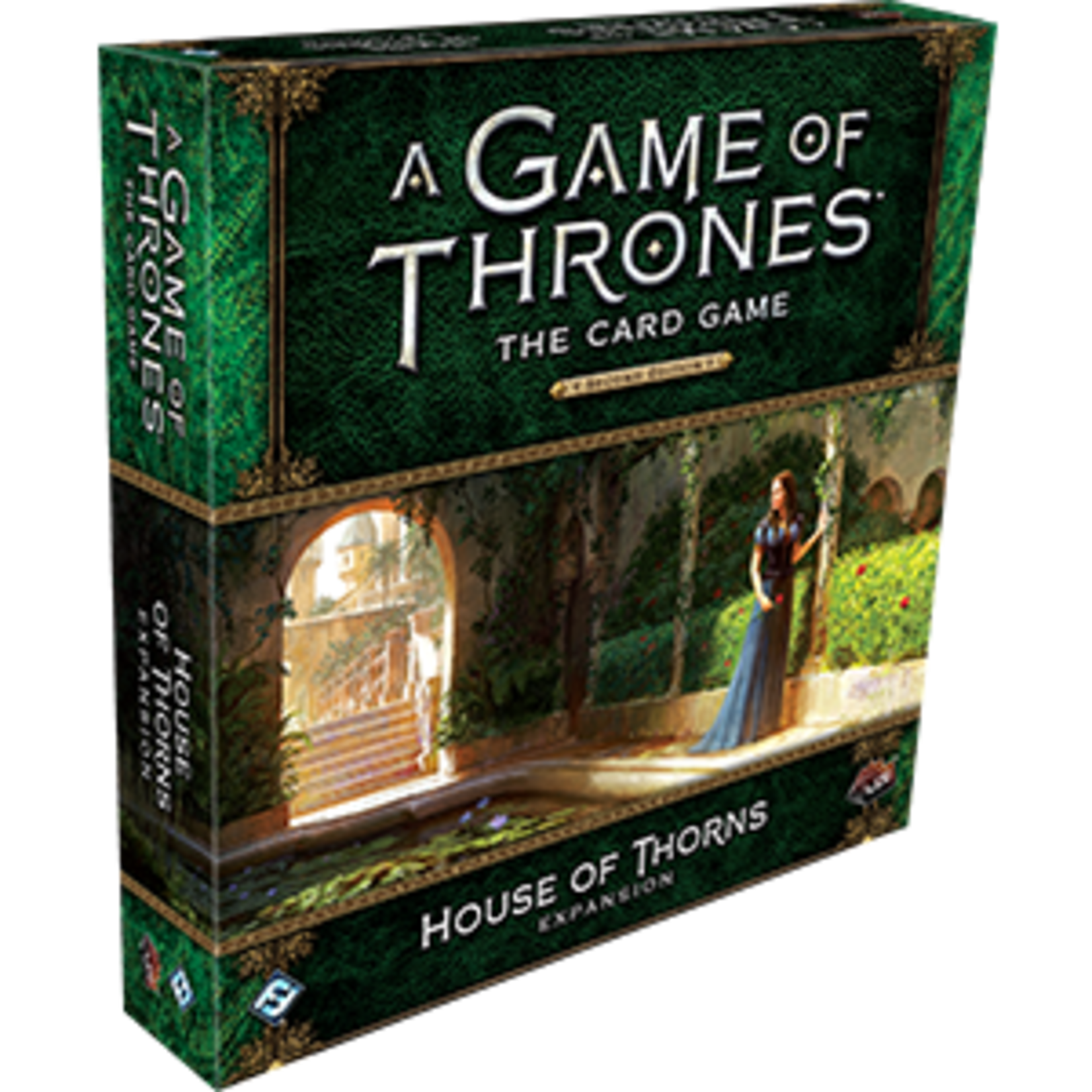 Fantasy Flight Games A Game of Thrones Card Game 2nd Edition: House of Thorns Deluxe Expansion