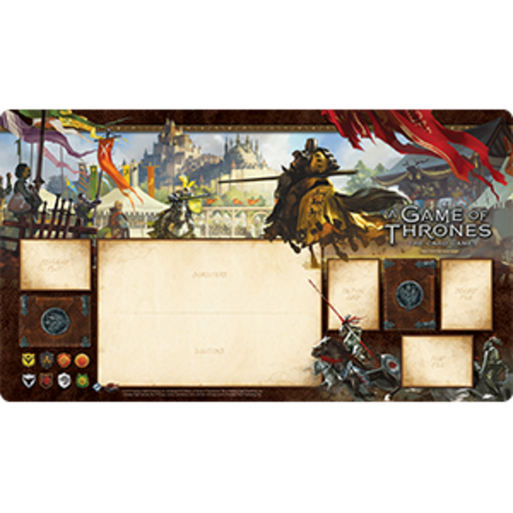 Fantasy Flight Games A Game of Thrones Card Game 2nd Edition - Knights of the Realm Playmat