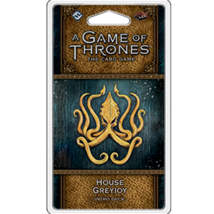 Fantasy Flight Games A Game of Thrones Card Game 2nd Edition: House Greyjoy Intro Deck
