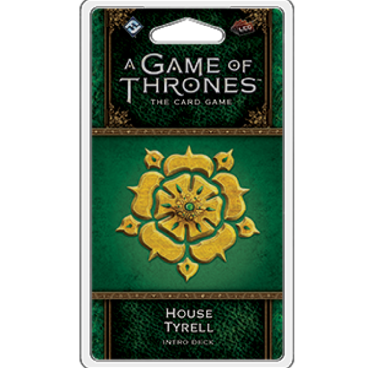 Fantasy Flight Games A Game of Thrones Card Game 2nd Edition: House Tyrell Intro Deck