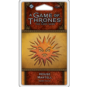 Fantasy Flight Games A Game of Thrones Card Game 2nd Edition: House Martell Intro Deck