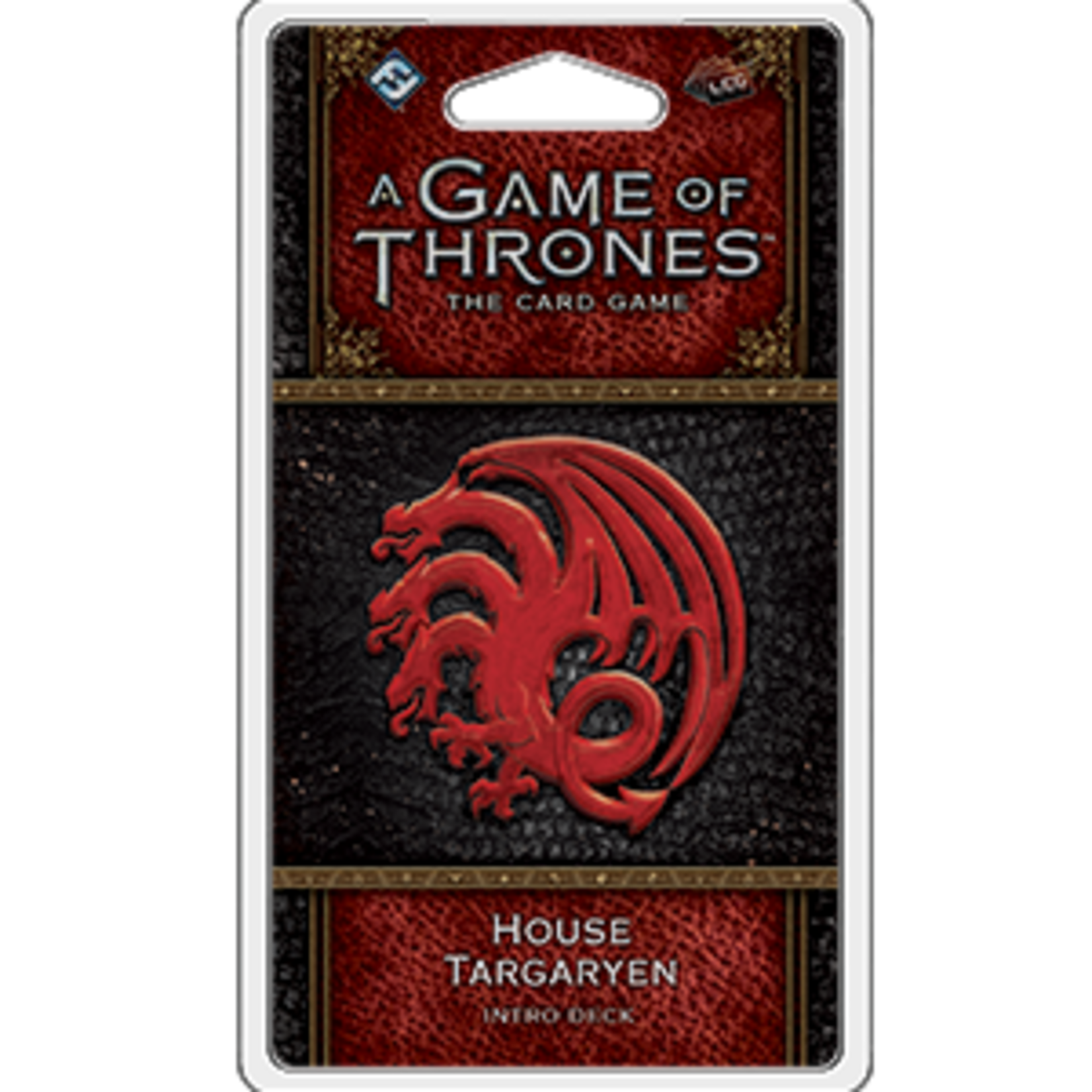 Fantasy Flight Games A Game of Thrones Card Game 2nd Edition: House Targaryen Intro Deck