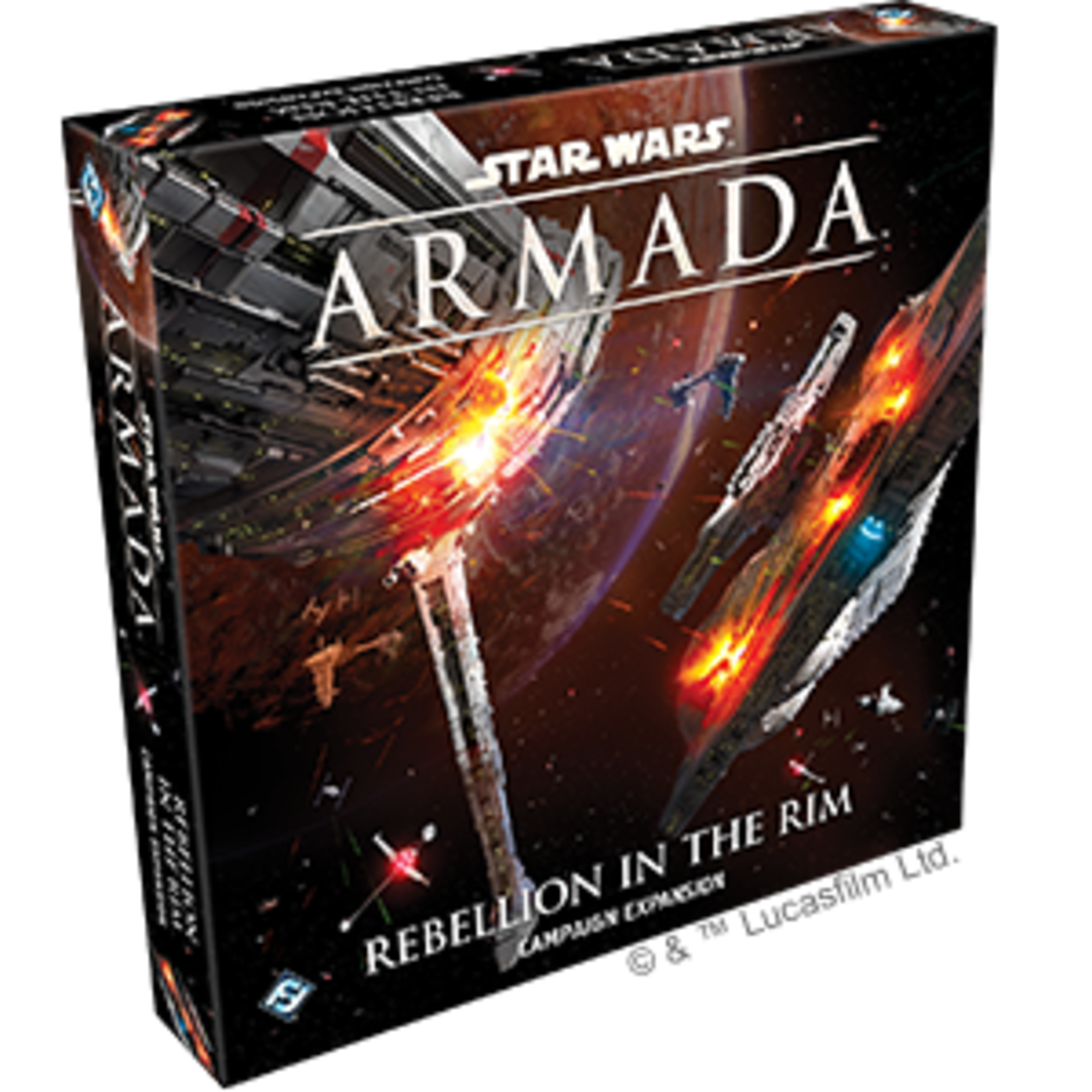 Fantasy Flight Games Star Wars Armada: Rebellion in the Rim Campaign Expansion