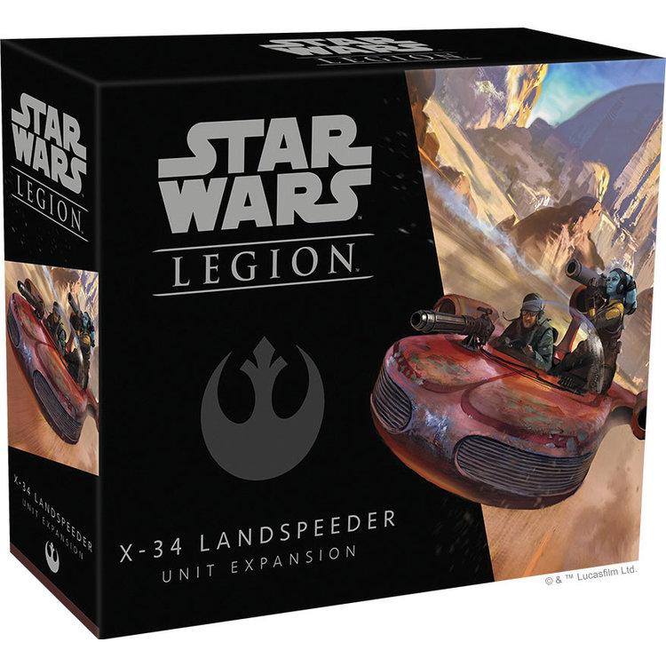 Fantasy Flight Games Star Wars Legion: X-34 Landspeeder Unit Expansion