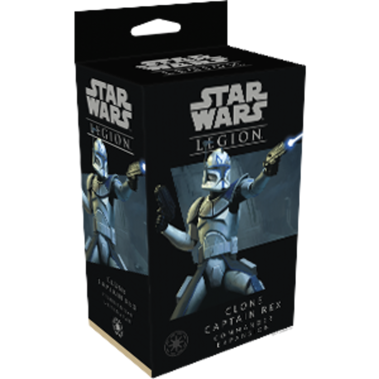 Fantasy Flight Games Star Wars Legion: Clone Captain Rex Commander Expansion
