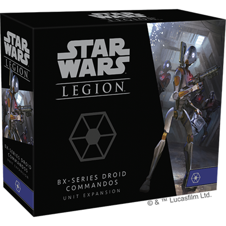 Fantasy Flight Games Star Wars Legion - BX-series Droid Commandos Unit Expansion