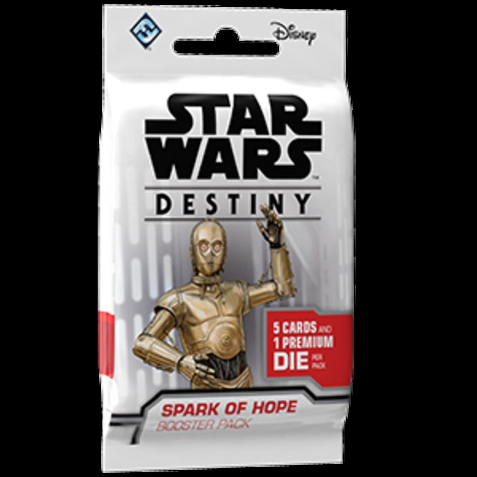 Fantasy Flight Games Star Wars Destiny: Spark of Hope Booster Pack