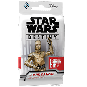 Fantasy Flight Games Star Wars Destiny: Spark of Hope Booster Pack