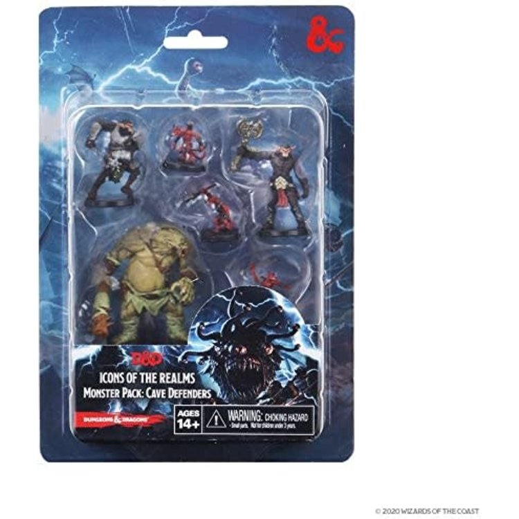 WizKids Dungeons and Dragons Icons of Realms Monster Pack Cave Defenders