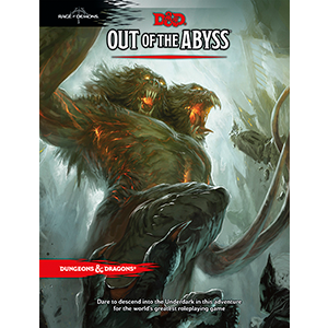 Wizards of the Coast Dungeons and Dragons Fifth Edition: Out of the Abyss Hardcover