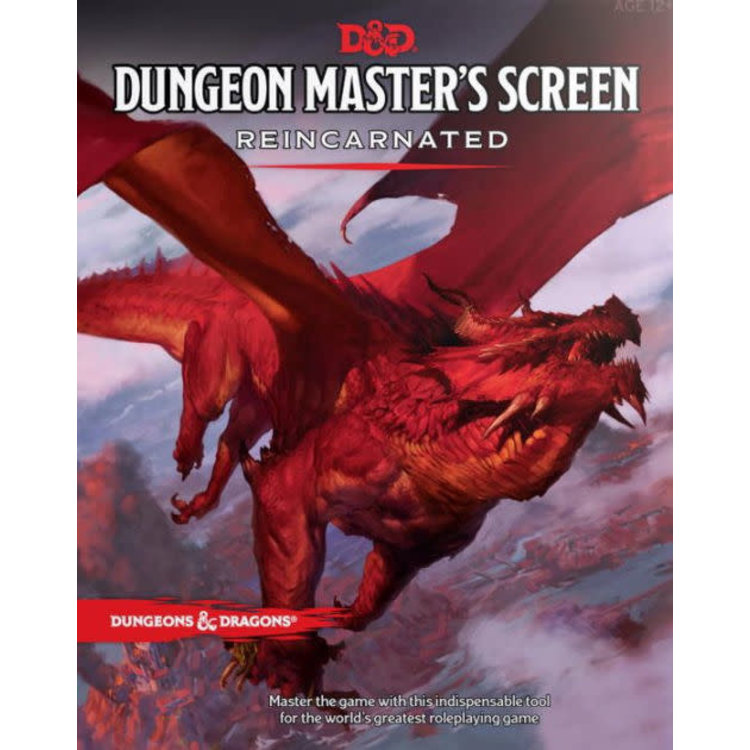 Wizards of the Coast Dungeons and Dragons RPG: Dungeon Master's Screen Reincarnated