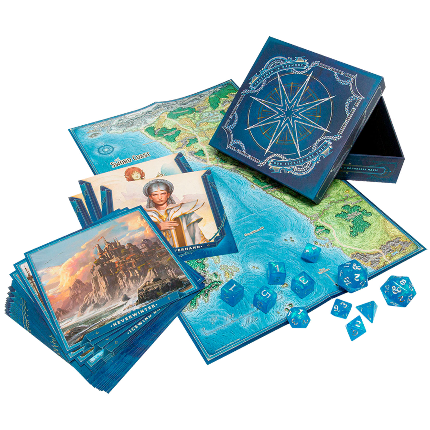Wizards of the Coast Dungeons and Dragons Roleplaying Game: Forgotten Realms Laeral Silverhands Explorers Kit