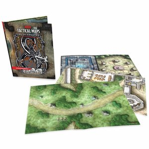 Wizards of the Coast Dungeons and Dragons 5th Ed: Tactical Maps Reincarnated