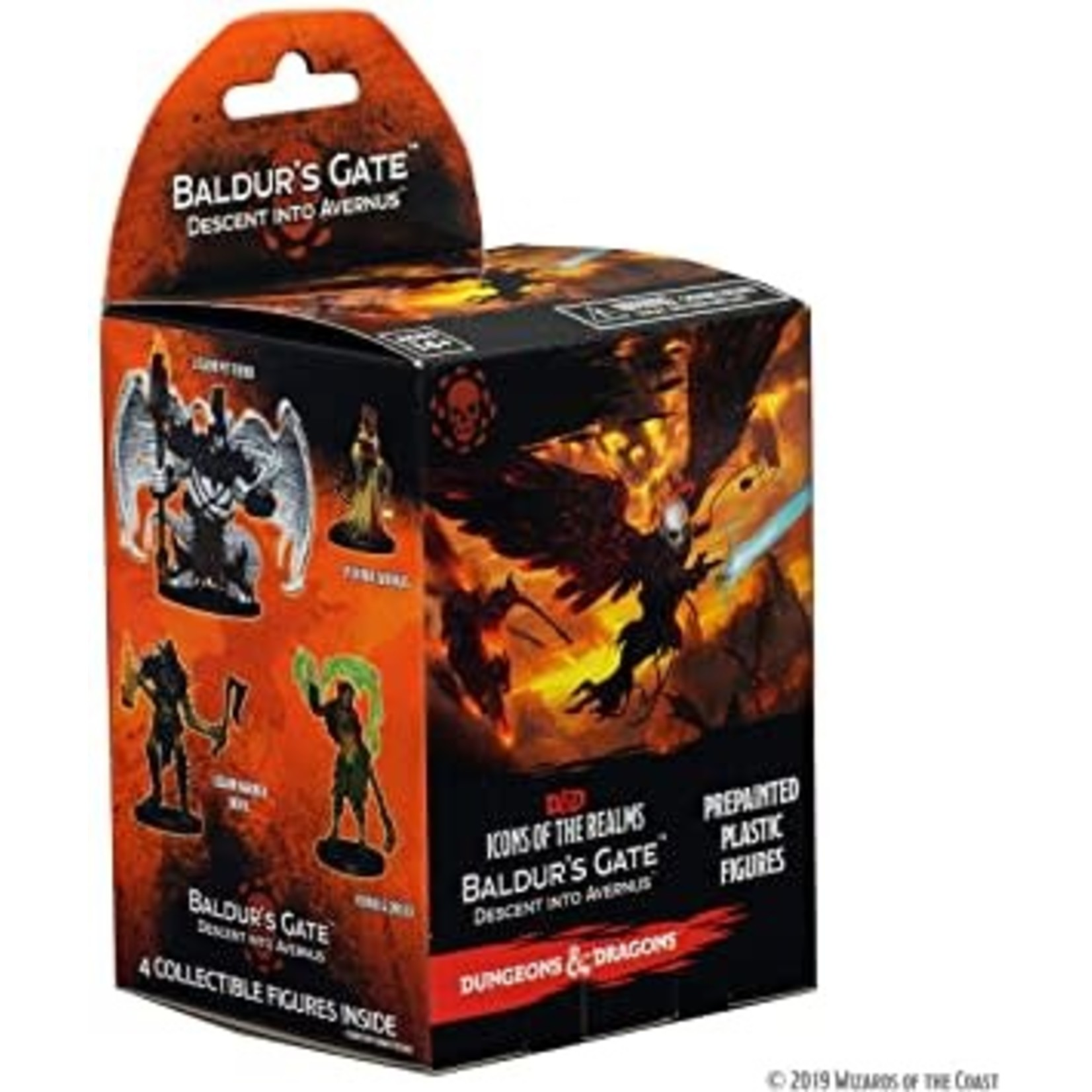 WizKids Dungeons and Dragons Icons of the Realms: Descent into Avernus Miniatures Booster Pack