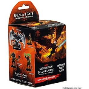 WizKids Dungeons and Dragons 5th Edition: Descent into Avernus Miniatures Booster Pack