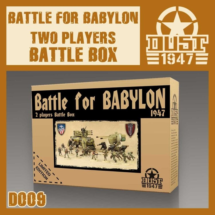 Dust DUST 1947: Battle For Babylon