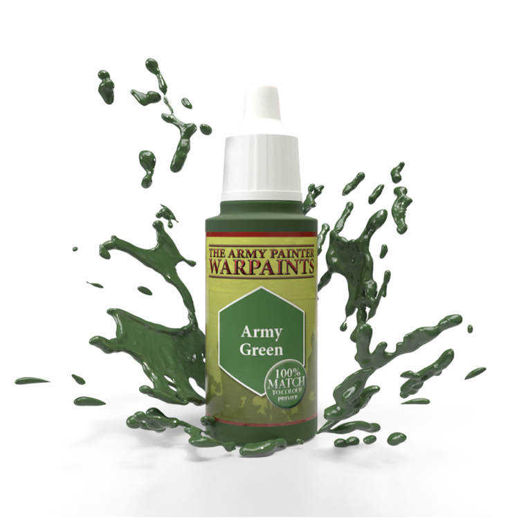 The Army Painter The Army Painter: Warpaints:  Army Green