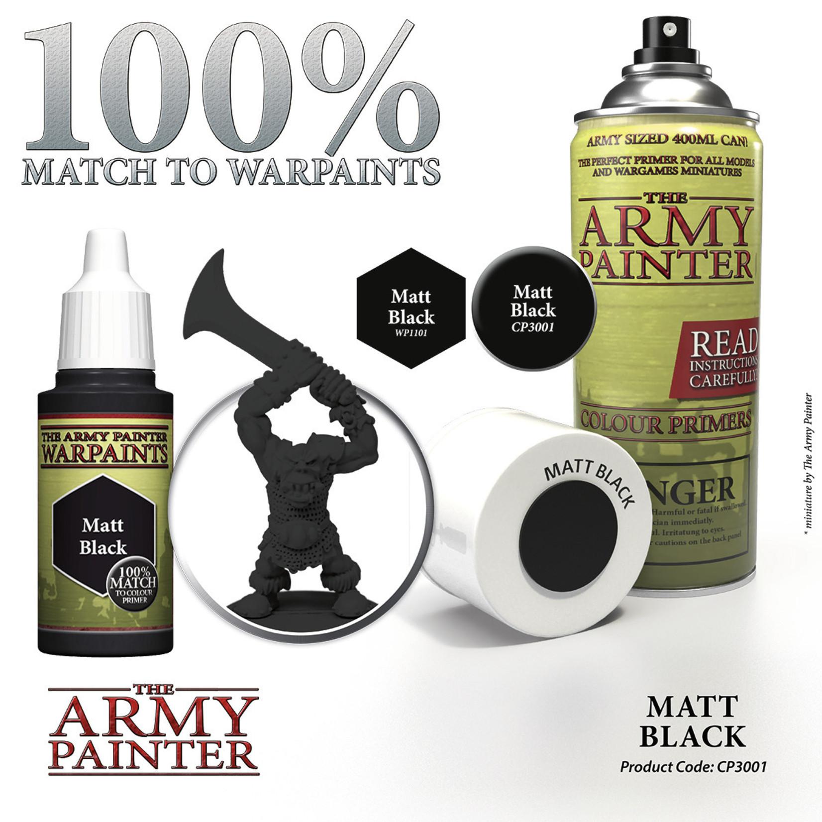 The Army Painter The Army Painter: Primer:  Matt Black