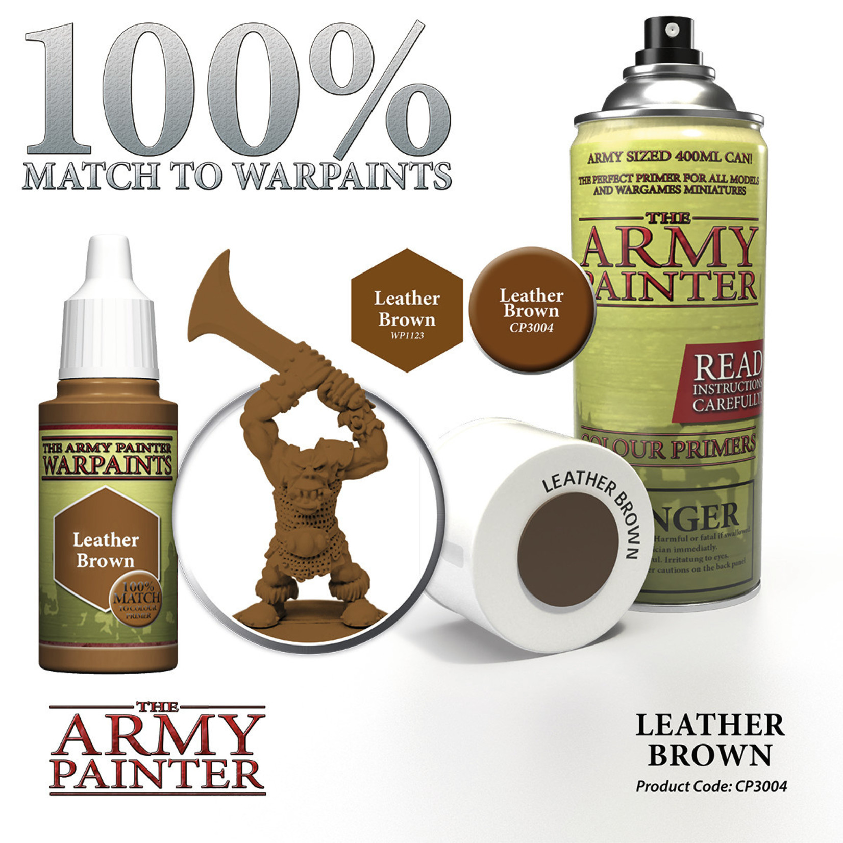 The Army Painter The Army Painter: Primer:  Leather Brown
