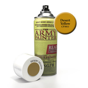 The Army Painter The Army Painter: Primer:  Desert Yellow