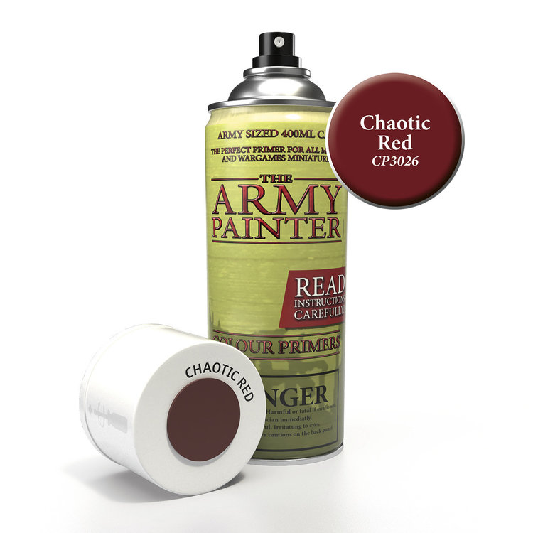 The Army Painter The Army Painter: Primer:  Chaotic Red