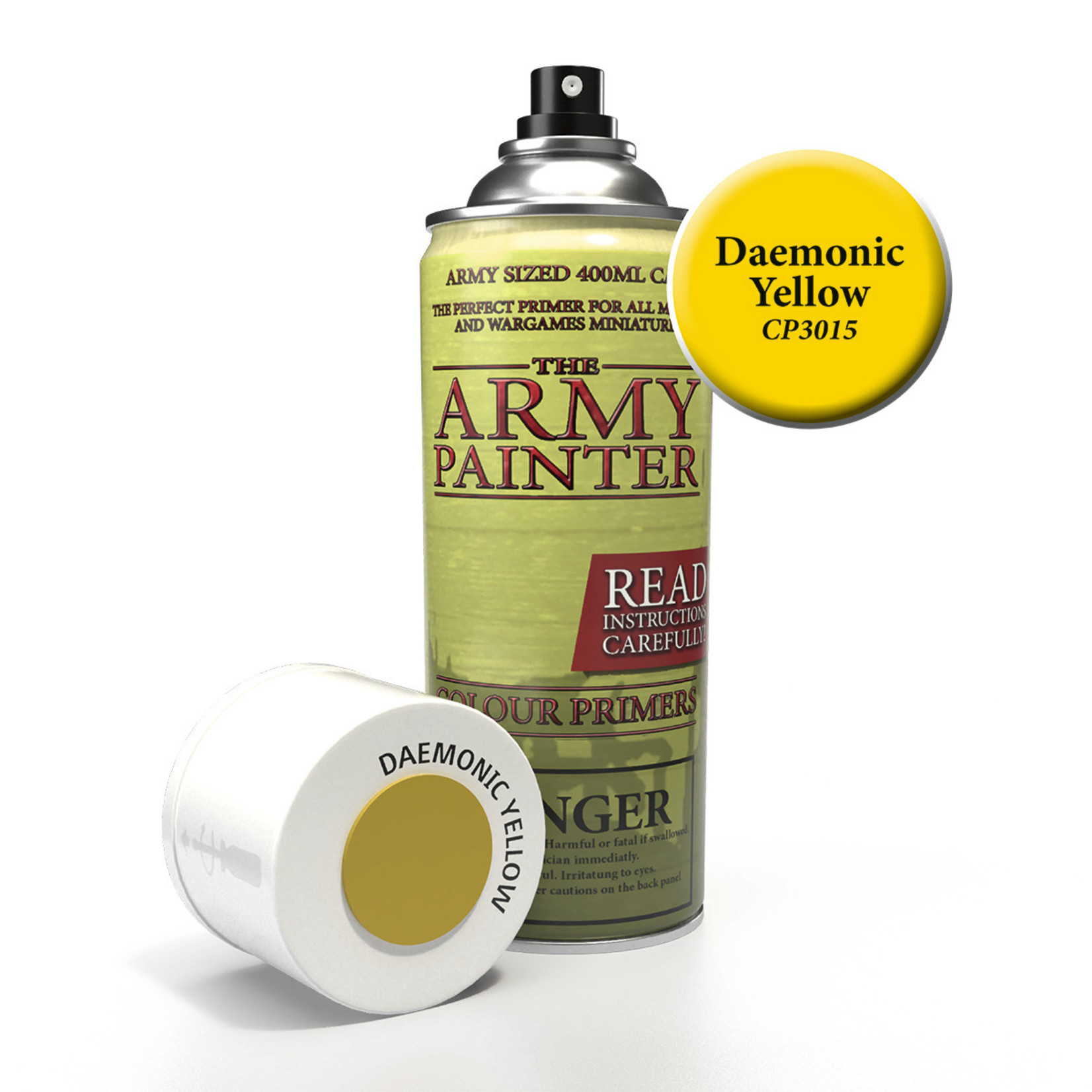 The Army Painter The Army Painter: Primer:  Daemonic Yellow
