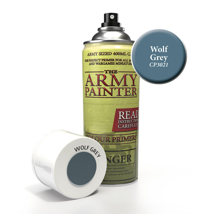 The Army Painter The Army Painter: Primer:  Wolf Grey