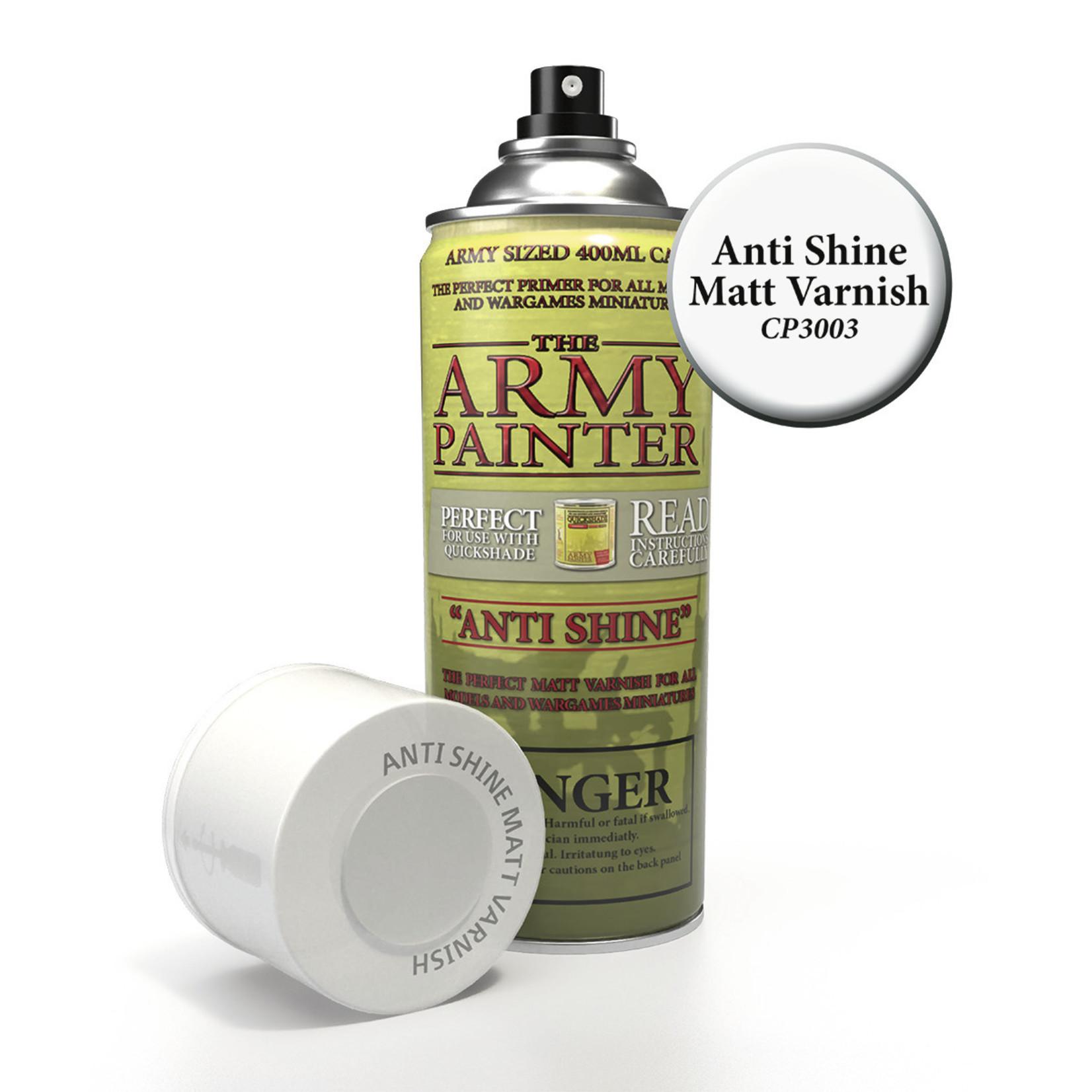 The Army Painter The Army Painter: Effects:  Anti-Shine Matt Varnish spray
